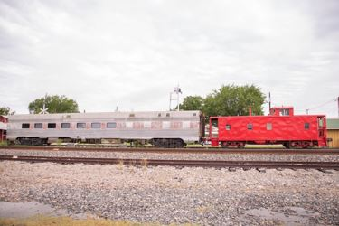 Dining Car and Caboose